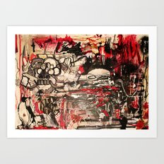 Red Nation Art Print