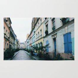Rue Crémieux Houses Rug