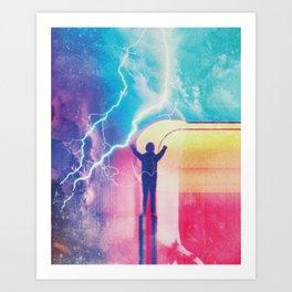 A NEW HERO 38 Art Print