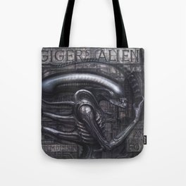 Alien Xenomorph Giger Tote Bag