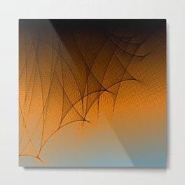 Gauze Pattern Metal Print