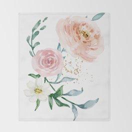 Rose Arrangement No. 1 Throw Blanket