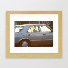 The glory of vintage Framed Art Print