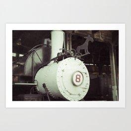 Locomotive 8 Art Print