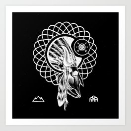 SPIRIT PATH Art Print