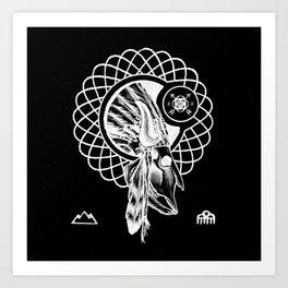 SPIRIT PATH Art Print
