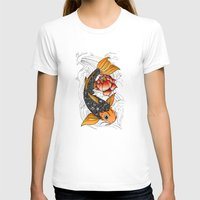 koi T-shirts featuring Koi by Tuky Waingan