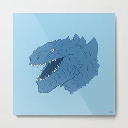 Godzilla 1998 Metal Print