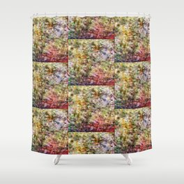 Soothing Heather Shower Curtain
