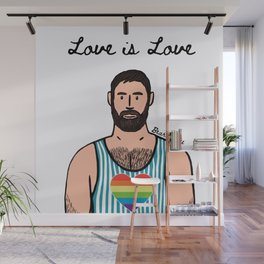 Bear Boy: Pride 1 Wall Mural