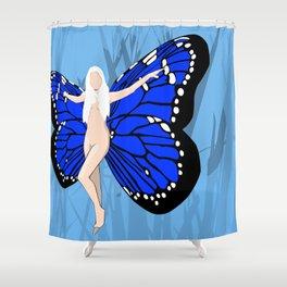 Flutterby Shower Curtain