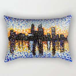 Perth City Sunrise Rectangular Pillow