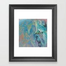 Blue Wonder Framed Art Print