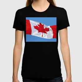 CANADIAN FLAG 01. T-shirt