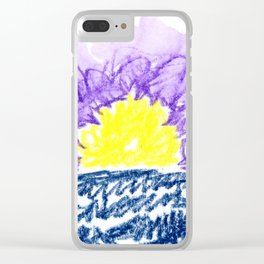 here comes the sun III Clear iPhone Case