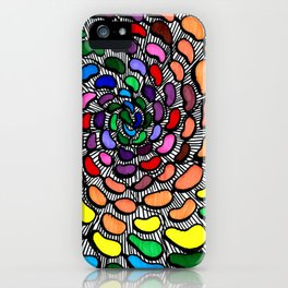 The Jelly Bean Explosion iPhone Case