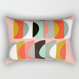 What Color Is The Moon II Rectangular Pillow