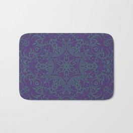 Sonora Smalt Blue Mandala With Jacarta Backdrop Bath Mat