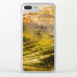 Hills of Tuscany Clear iPhone Case