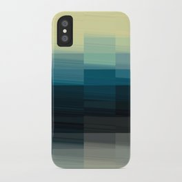 Modern Ombre Tiled Pattern Design iPhone Case