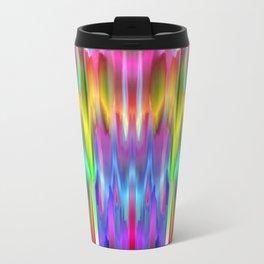 Colorful digital art splashing G488 Travel Mug