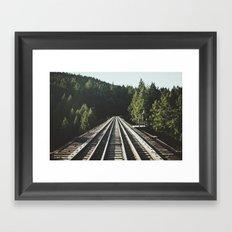 85 Meter High Trestle  Framed Art Print