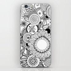 Floral Kaleidoscope  iPhone & iPod Skin