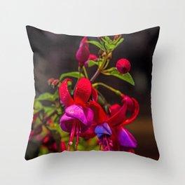 Fuchsia Dreams Throw Pillow