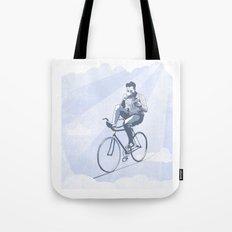 Bike and Coffee (Heaven) Tote Bag