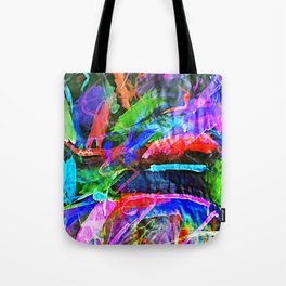 Lily's Watercolor Inverted Tote Bag