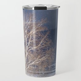 Snowy tree Travel Mug