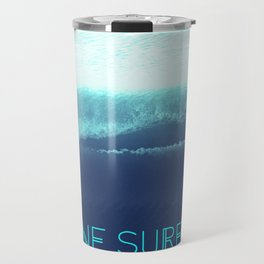 Gone Surfing Travel Mug