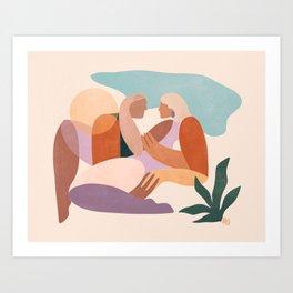 Dreamers no.7 (Sunrise) Art Print