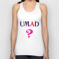 mad Tank Tops featuring mad? by snorkdesign