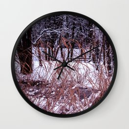 Nix in parco Wall Clock