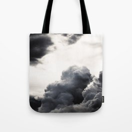 clouds pass by  Tote Bag
