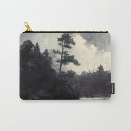 Adirondack Lake by Winslow Ho mer (1889) Carry-All Pouch