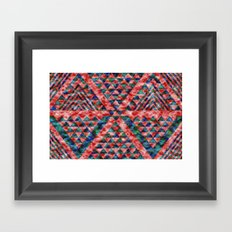 Colores Loco Framed Art Print