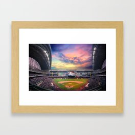 Late Afternoon Game Framed Art Print