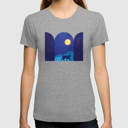 cat_night0612 T-shirt