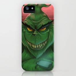 The Grinch 2017 iPhone Case