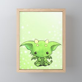 Bitty Baby Dragon Framed Mini Art Print