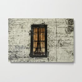 Dreaming of Paris Metal Print