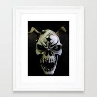 bones Framed Art Prints featuring Bones by Shalisa Photography