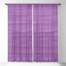 Purple Haze Sheer Curtain
