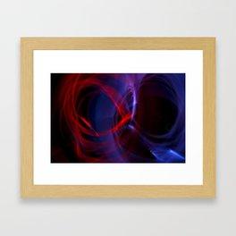 Eternity Love Symbol Framed Art Print