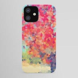 Orange Tree Watercolor digital iPhone Case