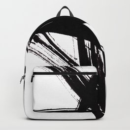 Abstract Wall art, Abstract Print, Black White Abstract Print, Black White Art, Minimalist Print, Ab Backpack