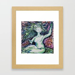 Morning Muse Framed Art Print
