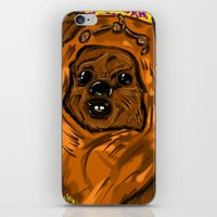 ewok iPhone & iPod Skins featuring Ewok by Art of Fernie